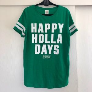 PINK Happy Holla Days T-shirt